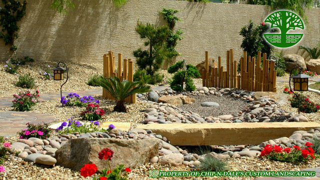 CHIP-N-DALES CUSTOM LANDSCAPING asian landscape