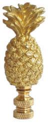 Brass Pineapple Lamp Finial traditional-lighting-hardware
