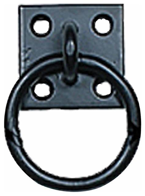 "... Pulls Wrought Iron Black Rustic Cabinet Ring Pull 2 1/2"" rustic-pulls"