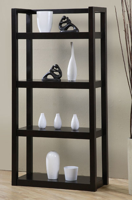 Open Shelf Bookcase - Contemporary - Bookcases - by Overstock.com
