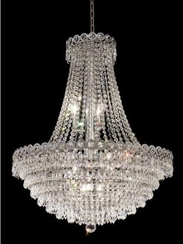 Century 12 Light Chandelier modern-chandeliers