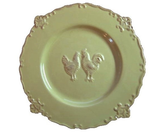 Country French Decorative Plate -