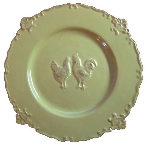 Country french decorative plate traditional decorative plates by decorative dishes - Decoratieve platen ...