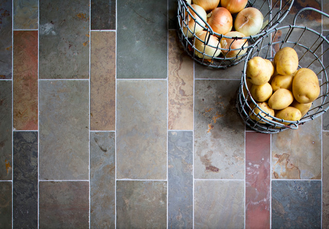 Slate Collection transitional-tile