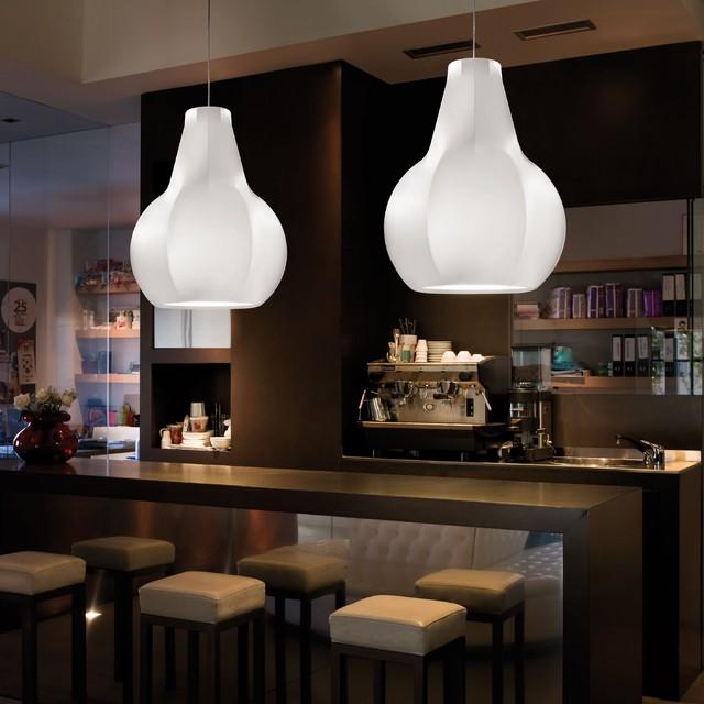 Gina Suspension Lamp by Kundalini modern-pendant-lighting
