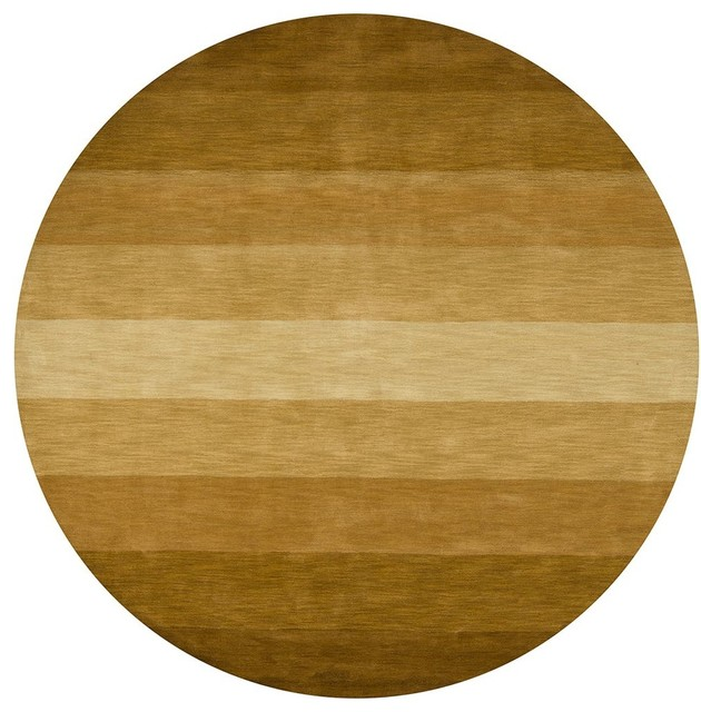contemporary metro round 7 39 9 round brown area rug