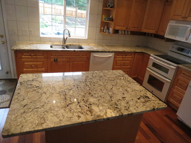 Granite quartz countertops other metro by vi granite repairs - Pictures of kitchens with quartz countertops ...