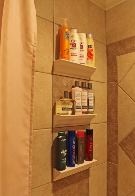 Bathroom Tile Storage Traditional Tile Dc Metro By