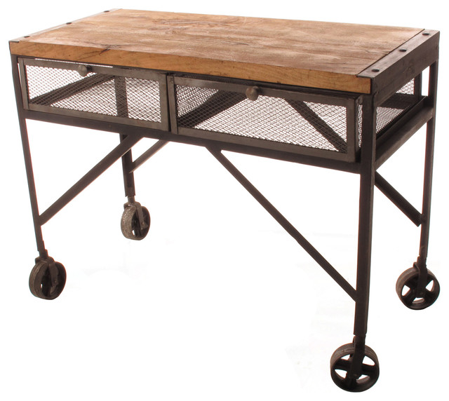 Houzz home design decorating and renovation ideas and for Sofa table on wheels