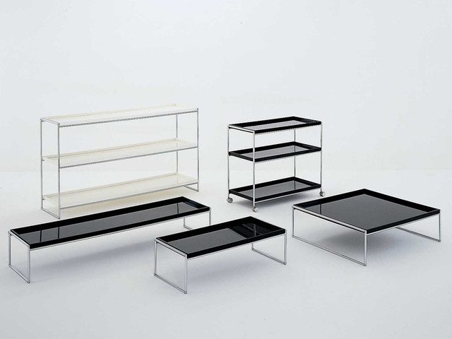 Kartell Trays Trolleys and Tables modern-side-tables-and-end-tables