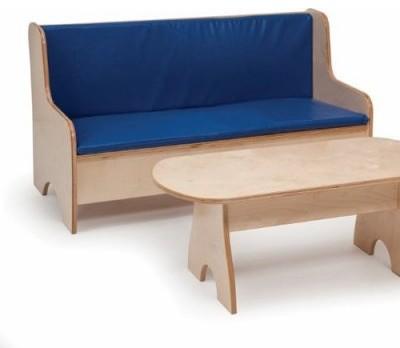 Whitney Brothers Economy Sofa modern-kids-chairs