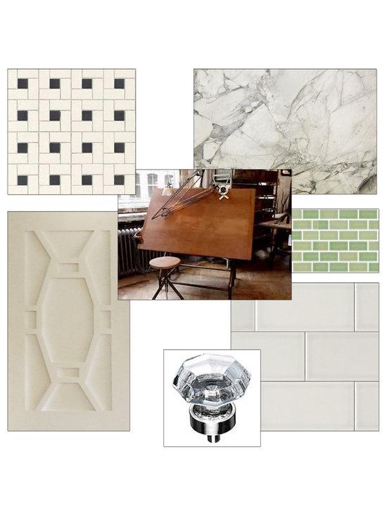 Elegant-Industrial Bath Remodel -