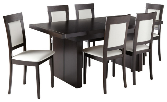 Academy Extension Dining Set contemporary-dining-tables