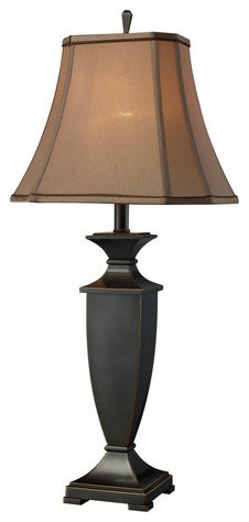 Dimond Lighting D1861 Ashville Single-Light Table Lamp in Oil Rubbed Bronze with traditional-table-lamps