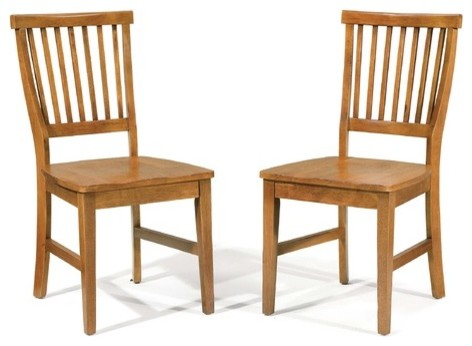 Arts and Crafts Dining Chairs (Set of 2) modern-dining-chairs