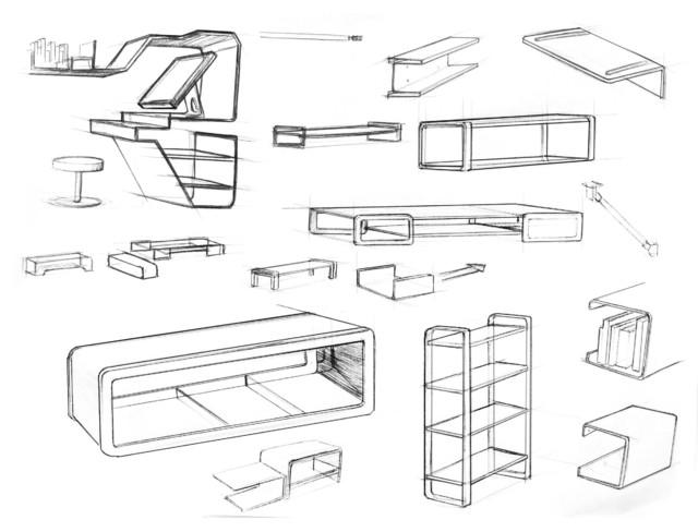 Furniture Design Sketch : Furniture Design Sketches modern