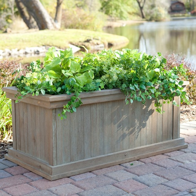 Indoor Garden Planter Boxes Storage Box Cedar Herb