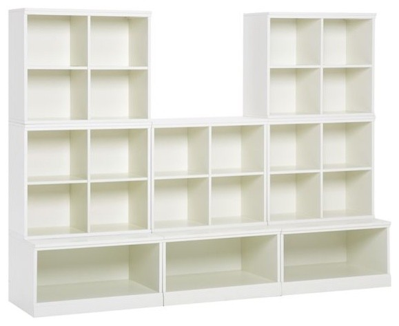 Cameron 5 Cubby and 3 Open Base Set modern-toy-organizers