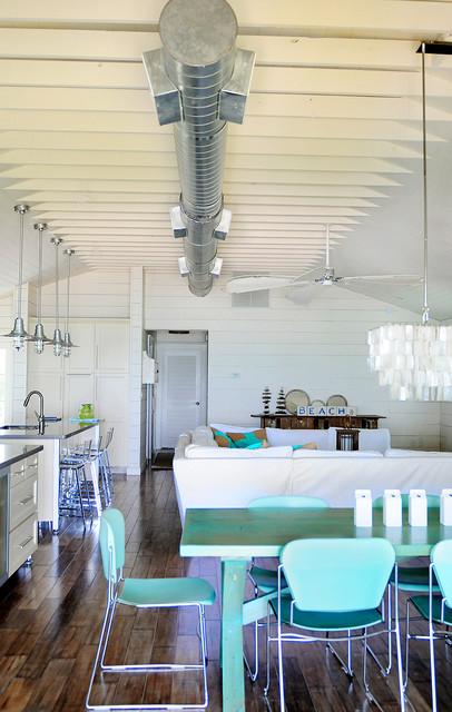 Anna Maria Beach House beach-style-living-room