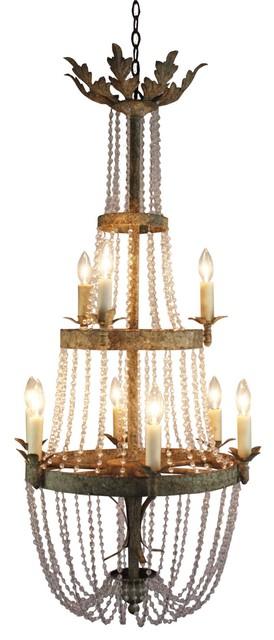 Aidan Gray Veronica Chandelier traditional-chandeliers
