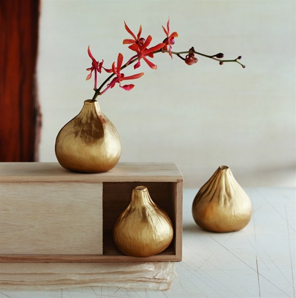 Roost Golden Fig Vases contemporary-vases