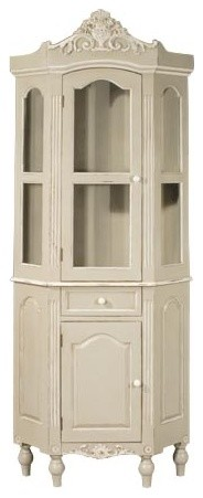 Toulouse French Slim Glazed Unit traditional-storage-cabinets