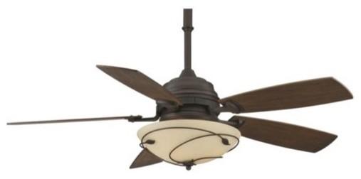 Leaf Standard Ceiling Fan by Fanimation Fans traditional-ceiling-fans