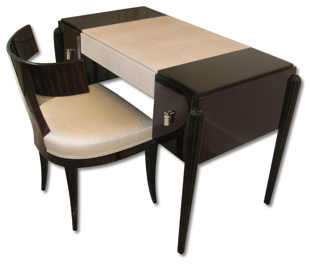 ... desk / make up table and chair eclectic-side-tables-and-end-tables