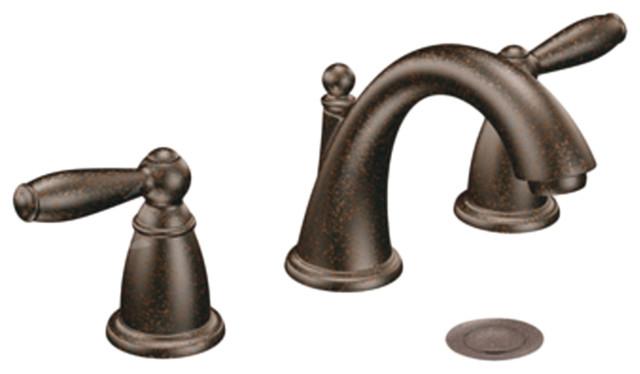 Moen T6620orb Oil Rubbed Bronze Bath Sink Faucet Trim Two Handle 8 16 Center Traditional