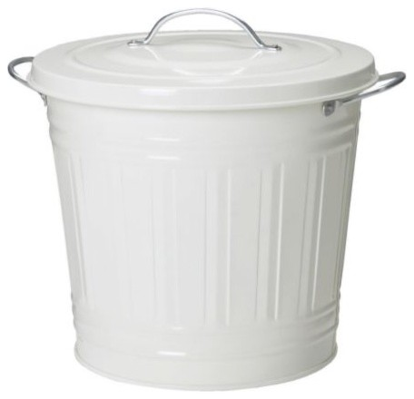 KNODD Bin with lid modern-kitchen-trash-cans