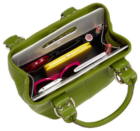 Handbag Organizer eclectic-storage-and-organization