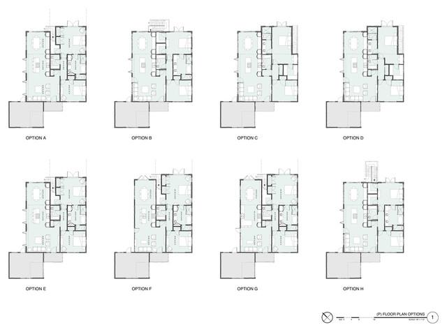 Sketches floor-plan