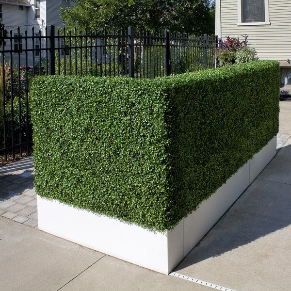 Artificial Outdoor Boxwood Hedge By Home Infatuation