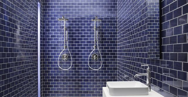 HydroRail Shower Column contemporary-showerheads-and-body-sprays