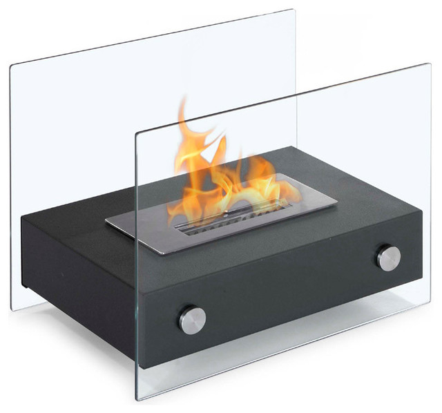 Elda Table Top Ethanol Fireplace modern-fireplaces