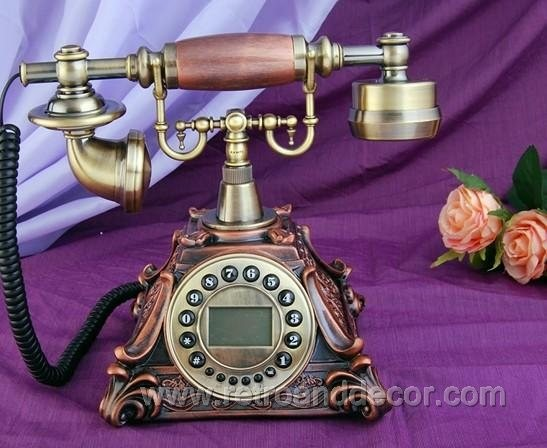 Antique Phones traditional-home-decor