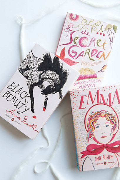 Embroidered Penguin Classics, Black Beauty modern books