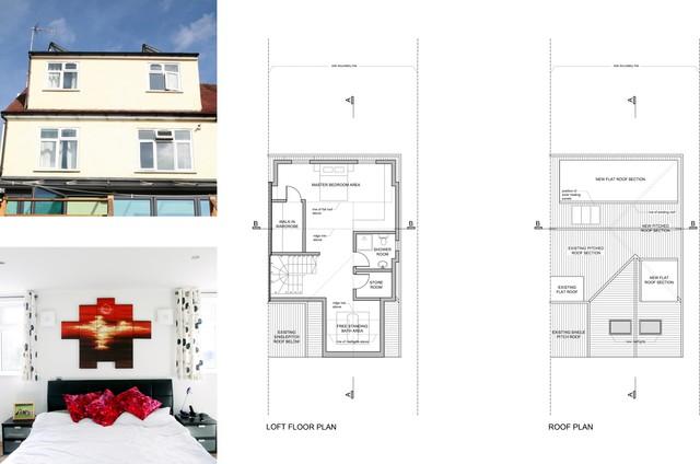 House extension | Golders Green, Barnet NW11, London, UK modern-floor-plan