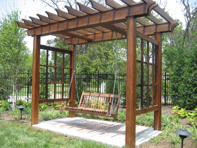 Pavilions arbors traditional other metro by for Trellis or arbor