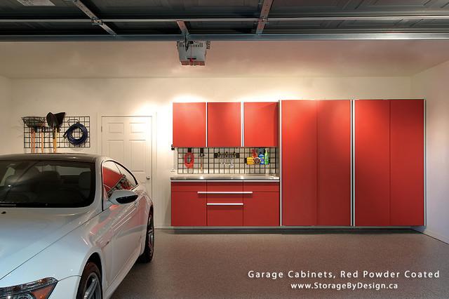 Garage Storage Cabinets - Modern - Storage And Organization - toronto - by Storage By Design .ca