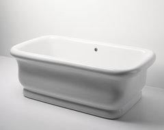 Empire Freestanding Rectangular Bathtub traditional-bathtubs