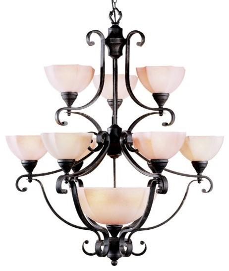 Livex Lighting LVX-4338-54 Chandelier contemporary-chandeliers