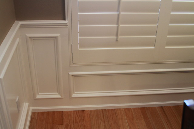 Russet Street Reno Dining Room Picture Molding Faq Add Panel ...