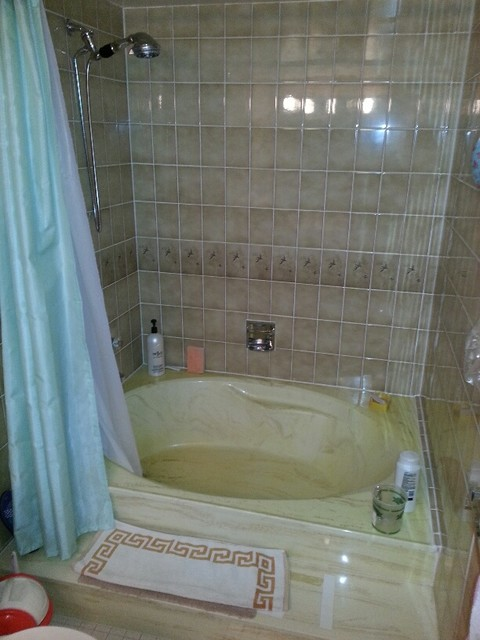 Tub To Shower Conversion Acrylic Walls Contemporary Other Metro By La