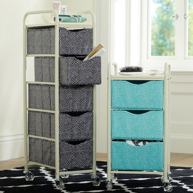 Popular Aluminum Storage Rack On Wheels For Bathroom Kitchen Entranceway At