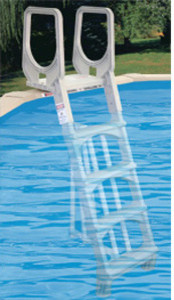 """Lyf-Guard 48""""-52"""" Deluxe In Pool Ladder contemporary-hot-tub-and-pool-supplies"""