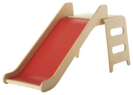 VIRRE Slide with Ladder and Guard Rail modern kids toys