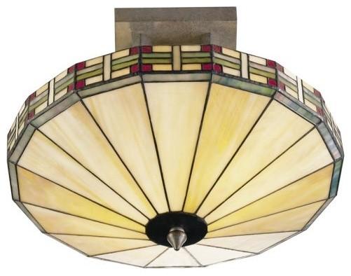 Dale Tiffany Mission Umbrella Fixture Pendant traditional-pendant-lighting