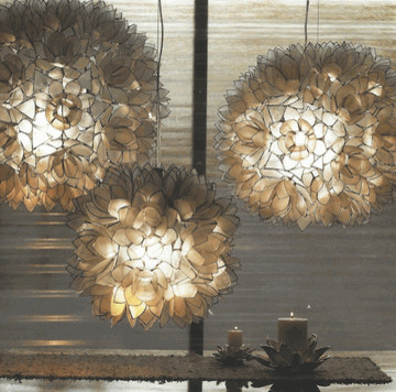 Roost Lotus Flower Chandeliers eclectic-ceiling-lighting