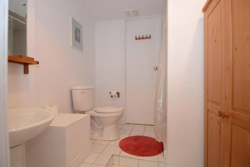 Raised toilet and shower for Bathroom designs normal
